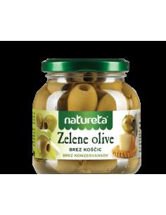 Zelene olive brez koščic,...