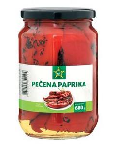Pečena paprika, Tuš, 680 g
