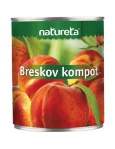 Kompot breskov, Tuš, 850 g